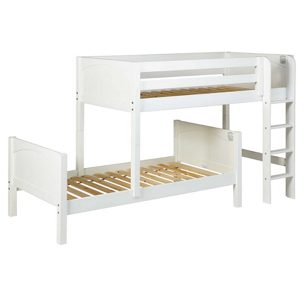l shaped bunk beds twin parallel and l shaped wood bunk bed with straight ladder