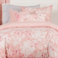Feminine Bedding in Pink | Fitted Eloise Bed Cap Comforter Set