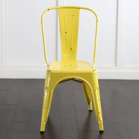 Metal Cafe Chair in Assorted Colors
