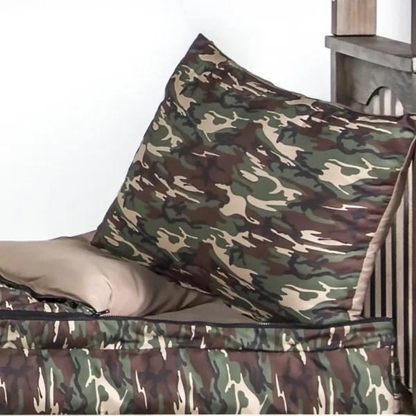 Galaxy Camo Zipper Comforter for Bunk  Loft Beds