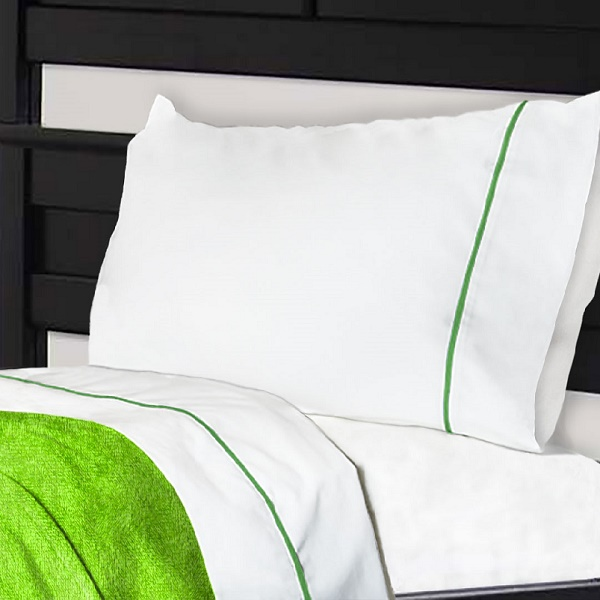 Cotton Polyester Bunk Bed Sheets with NoTuck Design