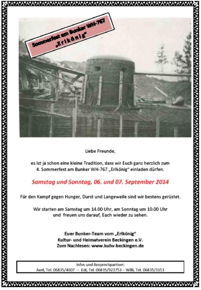 Sommerfest am Bunker WH767