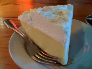 Icebox Lemon Pie with Meringue