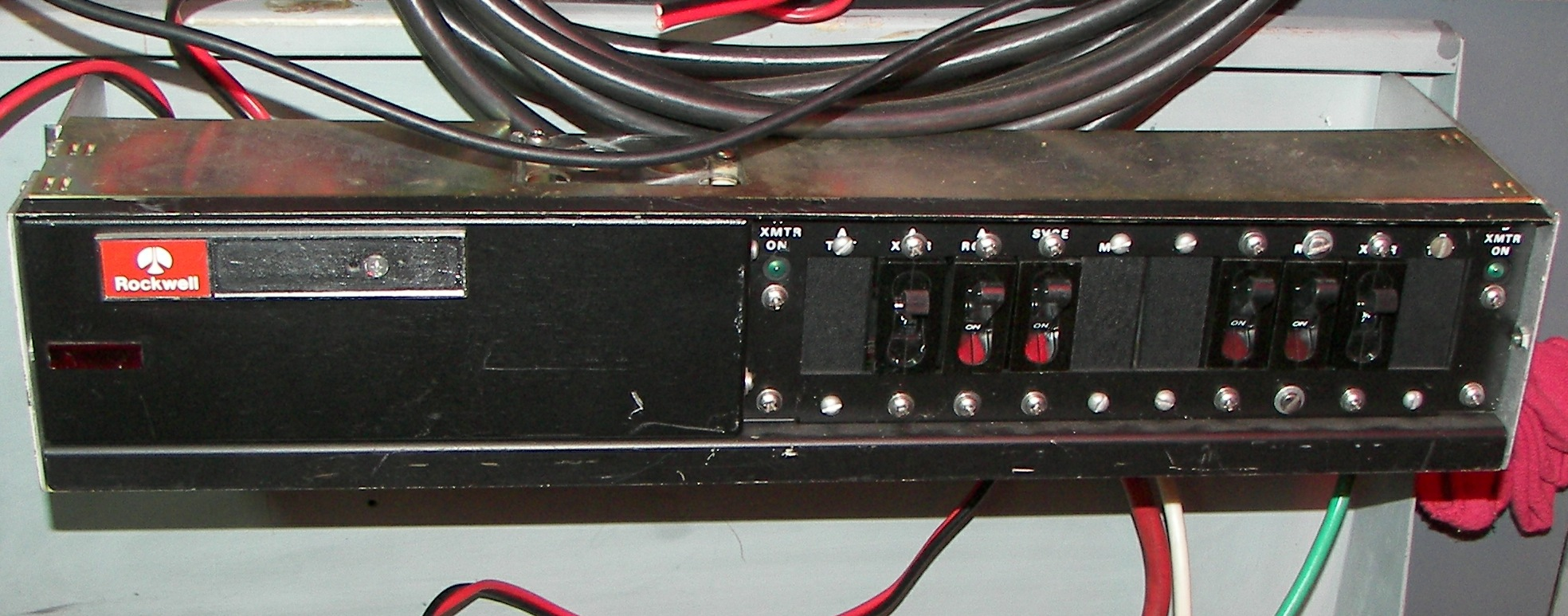 hight resolution of rockwell breaker panel the unit was modified and two 100a dc breakers added one is for the 24vdc line and one is for then 12vdc line