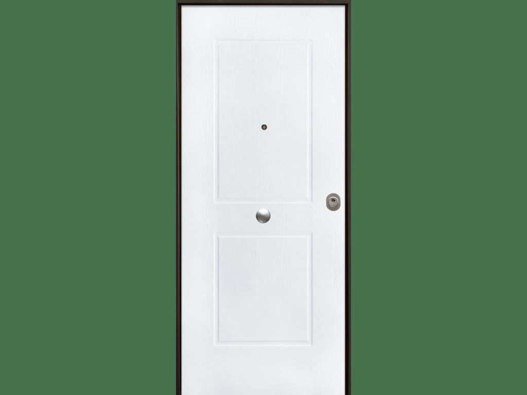 porta blindata con pannello di rivestimento pvc mdf