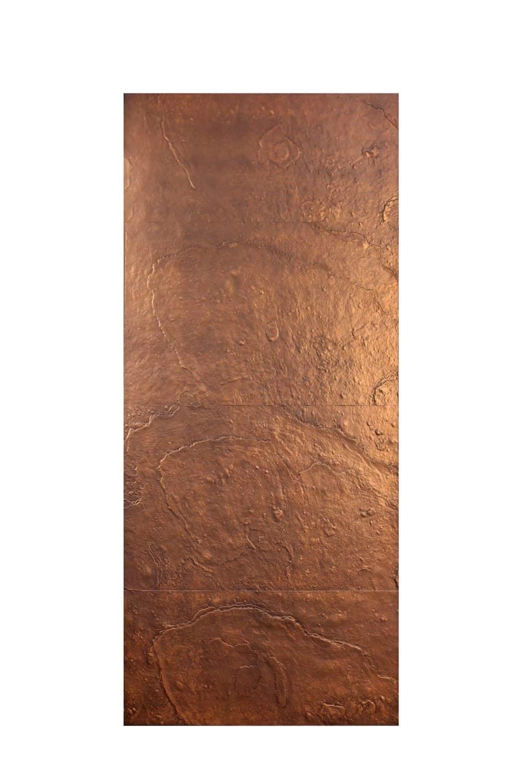 Pannello in fusione alluminio Plutone colore bronzo