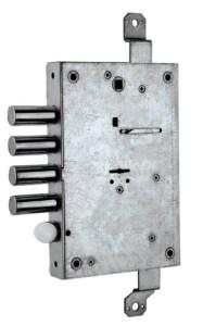 serratura triplice ad ingranaggio doppia mappa