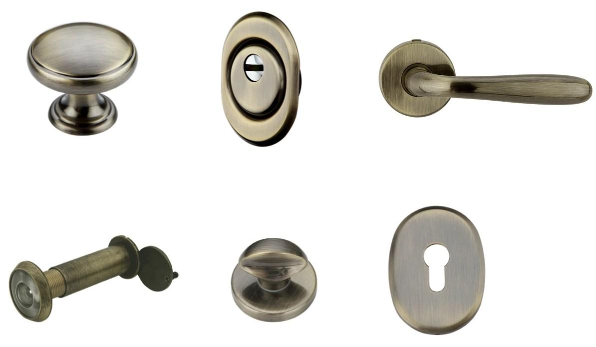 Kit accessori per porte blindate