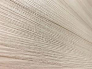Dettaglio pannello laminato colore bianco palissandro