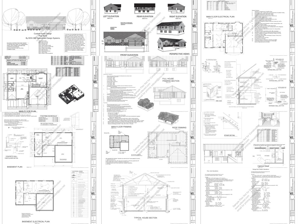 Small Cabin and Bunk House Plans and Blueprints
