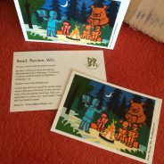 Bunk Reads Review Postcards