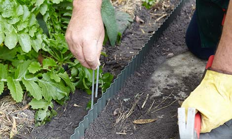How To Install Garden Edging Bunnings Warehouse