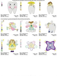 Fairies Embroidery Designs  Free Embroidery Patterns