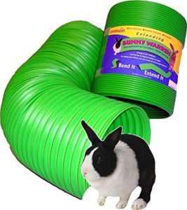 All Weather Flexible Bunny Warren Fun Tunnel