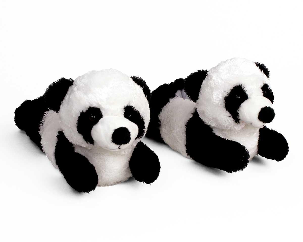 Panda Black And White Wallpaper Panda Bear Slippers Panda Slippers