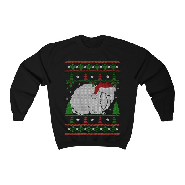 Rabbit In Santa Hat Ugly Christmas – Sweatshirt