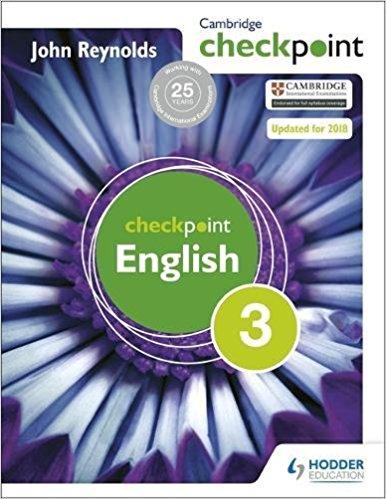 Cambridge Checkpoint English 3 Reynolds - bunpeiris Literature