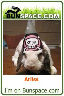 Arliss' Bunspace Badge