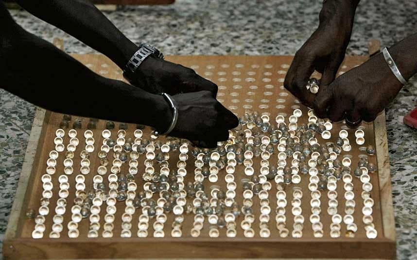 counting votes in Gambia