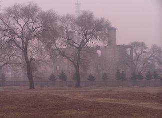 Un edificio del complesso dell'Unità 731 ad Harbin, nel 2008. (松岡明芳)