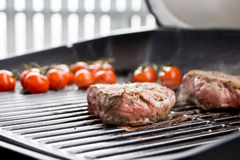 Steaks mit Schokoladensauce