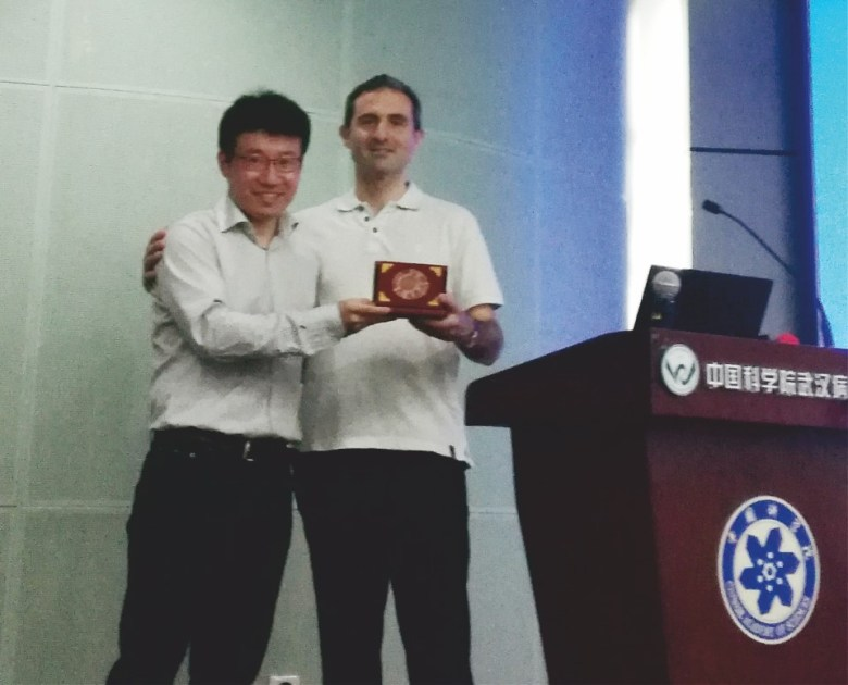 Pierre-Yves received the Medal of Wuhan-Institute of Virology