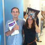 """Magalie did it! The first """"official"""" PhD student of the lab is released!"""