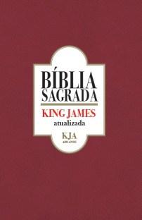 Capa da Bíblia Sagrada King James