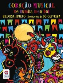 Capa do livro sobre o folclore musical brasileiro Coração musical do bumba meu boi