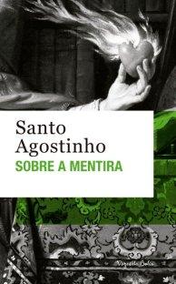Capa do livro Sobre a Mentira de SAnto Agostinha em português do Brasil