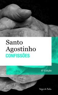 Capa do livro Confissões de Santo Agostinho em português do Brasil