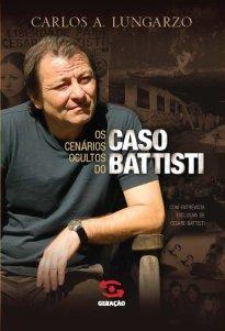 Capa do livro Os cenários ocultos do caso Battisti