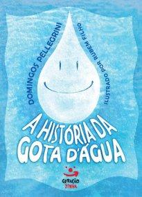 Capa do livro infantil A história da gota d'água