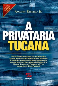 Capa do livro A privataria tucana
