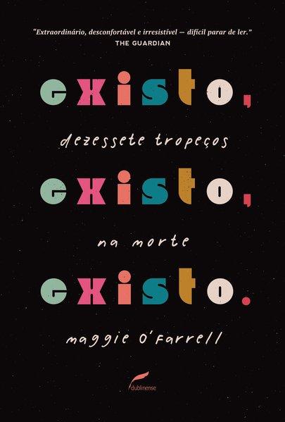 Capa do livro Existo, existo, existo