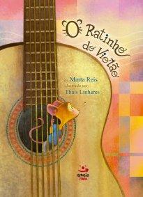 Capa do livro sobre bullying O ratinho do violão