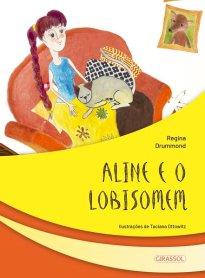Capa do livro Aline e o lobisomem