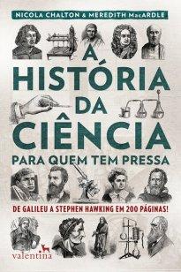 Capa do livro A história da ciência para quem tem pressa
