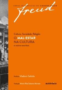 Capa do livro O mal-estar na cultura e outros escritos de cultura, sociedade, religião