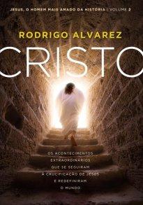 Capa do livro Cristo de Rodrigo Alvarez