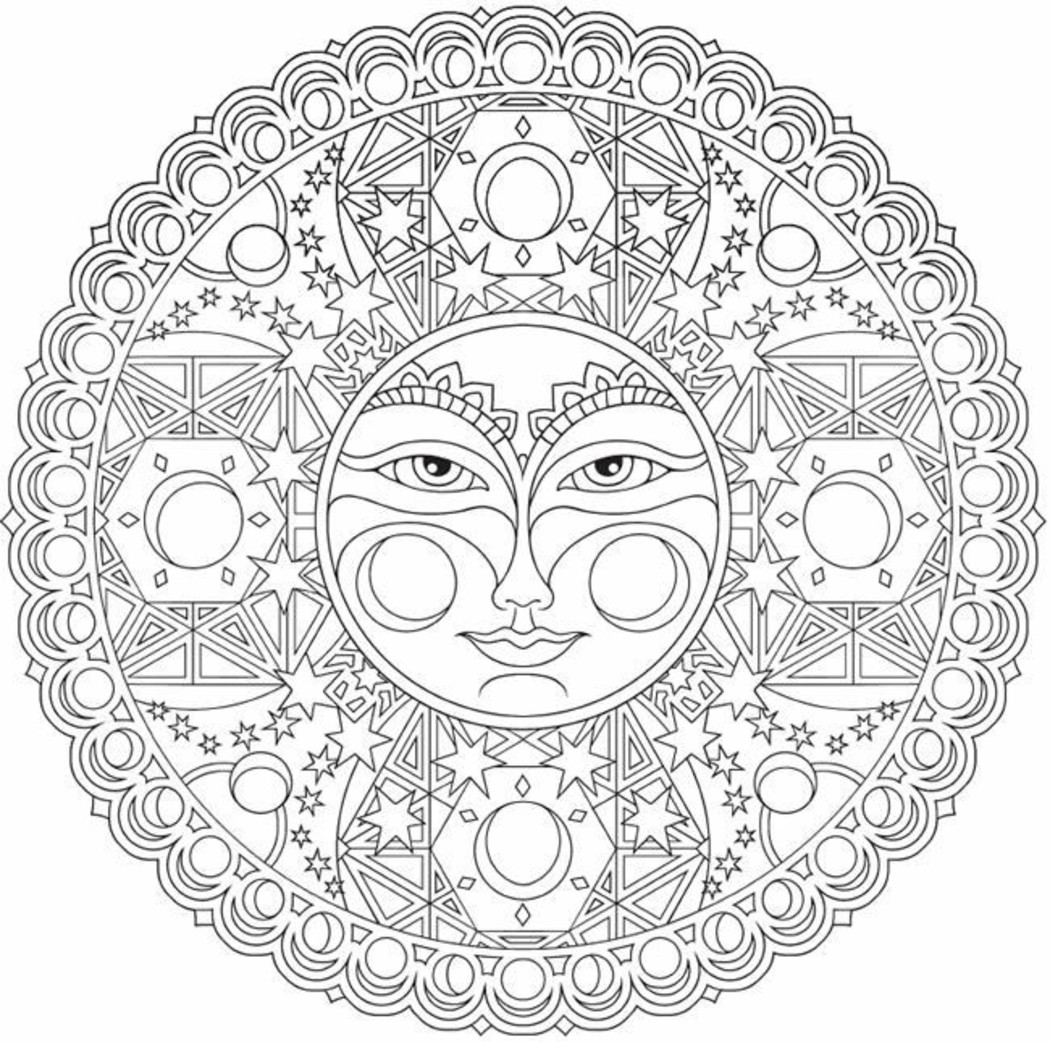 Mandala Da Colorare Difficili