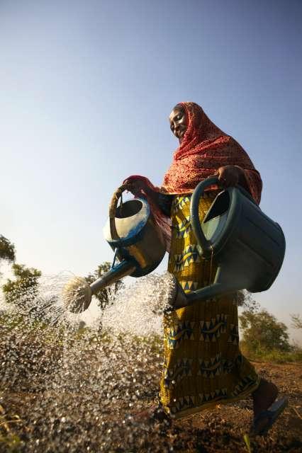 Acqua terra uomo frontiera tra Centrafrica e Tchad