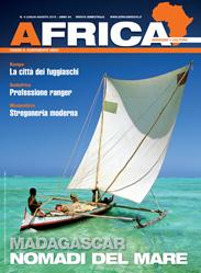 Copertina Africa luglio-agosto 2015