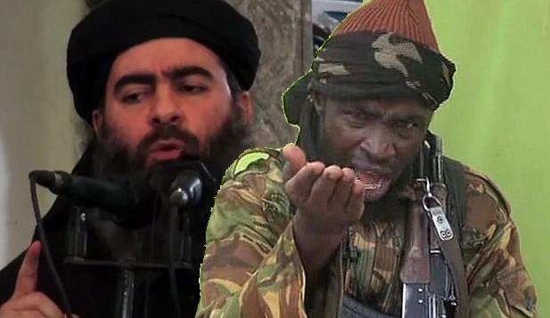 Abubakar Shekau e Abu Bakr al Baghdadi