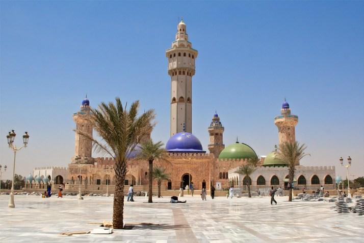 La moschea di Touba in Senegal