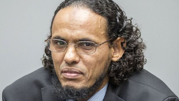 Al Mahdi durante il processo alla Cpi. Photo: Getty Images