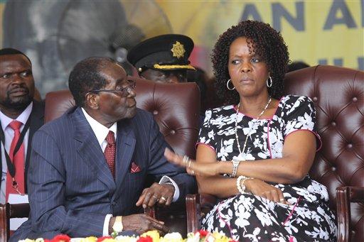 Zimbabwe Teasing Mugabe