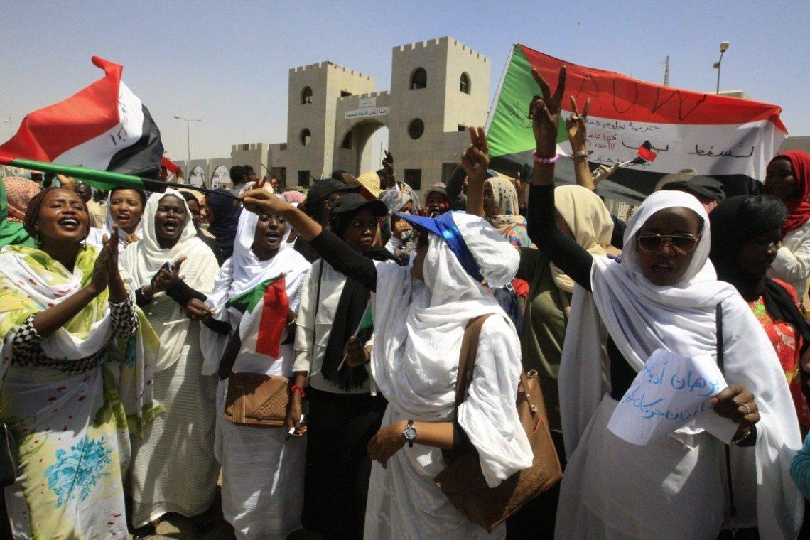 sudan sciopero