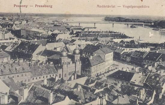 Bratislava-1914-sinagoga-pontevecchio_(wiki)