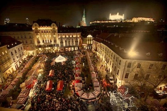 Bratislava, mercatino natalizio